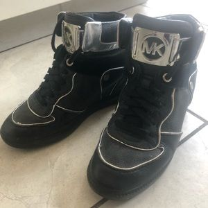 Micheal kors wedged sneakers